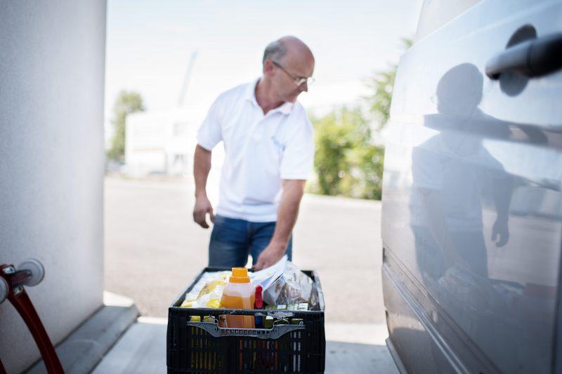 Jobangebot / Stellenangebot: Zustellfahrer / in ZustellfahrerIn für Lebensmittel